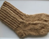 Special Order for Mark - Tunis Wool Socks Handspun and Hand Knitted Socks Mens