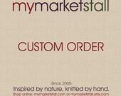 Custom Order for Red Felted Bowl