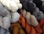 Rauma Rya Yarn from Norway ... Choose any 5 skeins.  100% Virgin wool