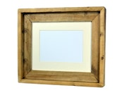 8x10 wood picture frame with 5x7 or 6x8 mat