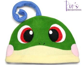 Pokemon - Politoed Hat / Fleece Hat / Winter Hat / Pokemon Hat / Fleece Pokemon Hat / Video Game Characters