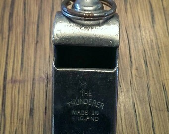 Vintage Smaller Acme Thunderer Whistle Made in England