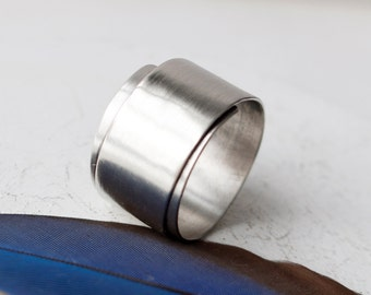 The It's a Wrap Ring - Sterling Silver Simple Wrap Ring