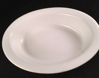 Antique/Vintage White Alfred Meakin Royal Ironstone China Oval Serving Bowl