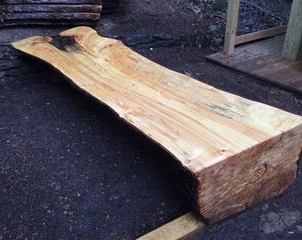 Natural Slab Bench