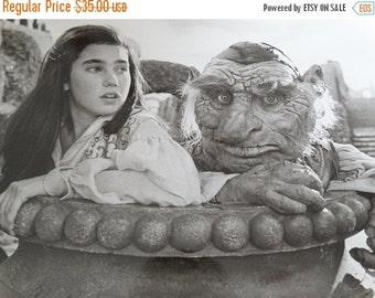 ON SALE 1986 Labyrinth Press Photograph, Jennifer Connelly Sarah encounters the Fireys, Tri Star Pictures