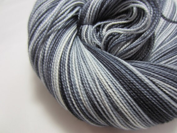 Into the Past - Dyed to Order - Hand Dyed - Merino Wool Yarn - Fingering Weight