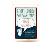 Brave Wizards - Book Lovers' Scented Tart Wax Melt - 3oz Pack