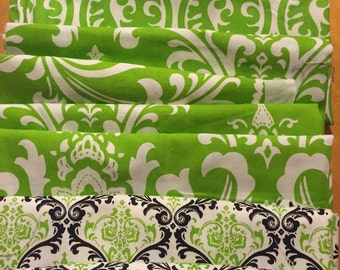 Premier Print Coordinating Chartreuse Fabric Pieces