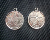 2 Tetragrammaton Pendants Amulets
