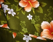 Retro look tropical fabric On Sale