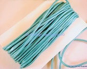BOGO - 30ft Seafoam Cording Waxed Cotton 2mm - 30 ft - STR9020CD-SF30 - Buy 1, Get 1 Free - no coupon required
