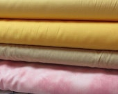 Six 1-yard pieces of pastels for 1 dollar each