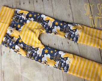Maxaloones, Twinkle Twinkle little star,  cloth diaper pants, grow with me pants