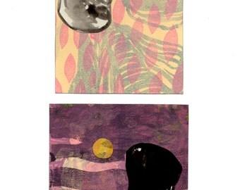 Original Art: Sunken Moon