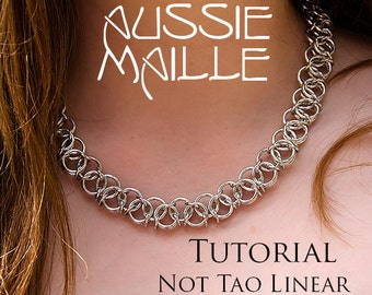 Chainmaille Tutorial - Not Tao Linear Necklace