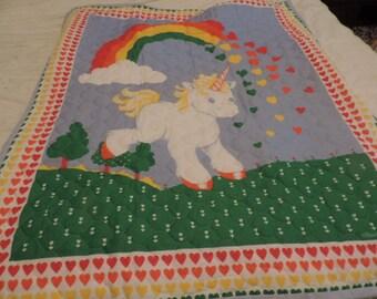 Unicorn Crib Bedding Etsy