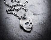 CITIZEN skull necklace