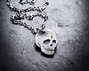 CITIZEN skull necklace