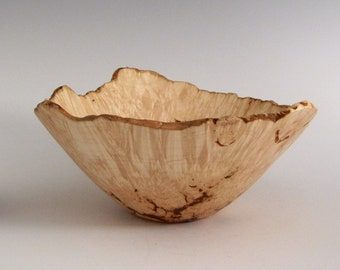 Elm Burl Wood Turned Bowl - Wooden Elm Bowl - Wood Bowl - Housewarming Gift - Gifts for Him or Her - Woodturning Bowl - Wooden Bowl