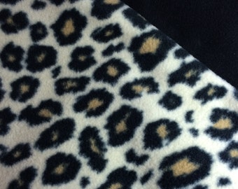 Fleece Small Cheetah Blanket