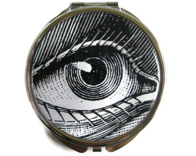 Eye Compact Mirror Pocket Mirror Large Gifts for her