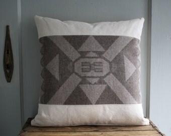 handmade wool pillow cover
