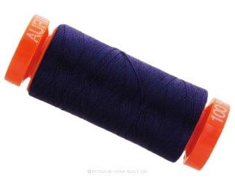 MK50 2748 - Aurifil Midnight Cotton Thread