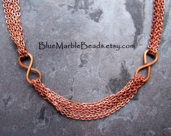 Large Link Chain-Copper Chain-Steel Chain-Unique Chain-Modern-Infinity-Vintage Chain-Japanese-Chain By The Foot-1 Foot