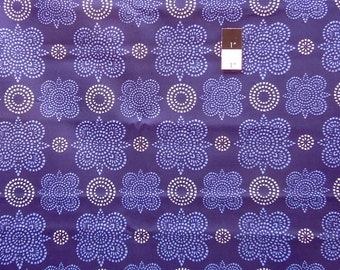 Ty Pennington SATY006 Impressions Taj Navy Cotton Sateen HOME DECOR Fabric 1 3/4 Yard