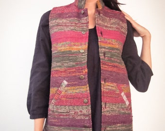 Vest made with recycled cotton eco