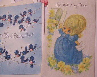adorable get well feel better cards
