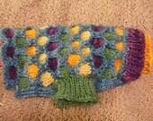 Spotty Dog Sweater Knitting Pattern