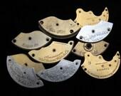 Destash Steampunk Watch Clock Parts Movements Plates Art Grab Bag RD 31