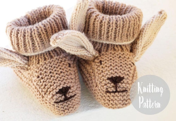 Knitting Patterns For Baby Booties Beginner : Baby knitting patterns baby booties baby knitting by handylittleme