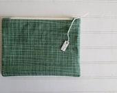Green Grid - Zip Bag...