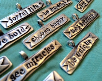 Choose Happy Collection Charms