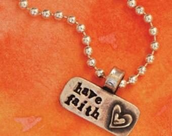 Have Faith necklace or bracelet