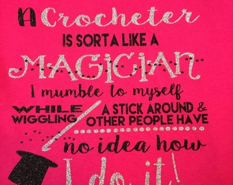 Crochet Sayings Etsy