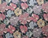 Liberty of London tana lawn fabric Poppy Rose Fat Eighth