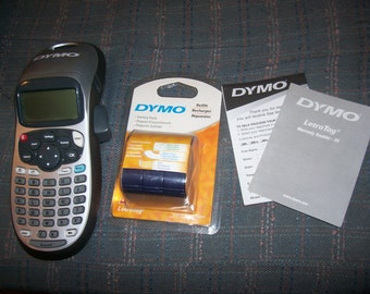 Dymo LetraTag Label maker new with unopened refill