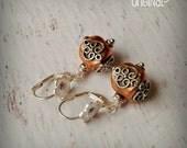 Celtic Ancestress Earrings - Celtic Earrings - Sterling Silver - Copper - Celtic Knot - Knot work Earrings - Knotwork - Pagan Earrings