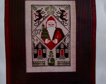 Counted Cross Stitch, The Prairie Schooler, Let it Snow, 2007 Limited Edition