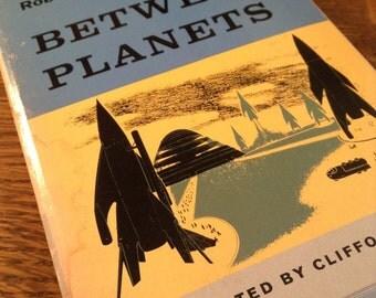 Between Planets by Robert A. Heinlein vintage paperback
