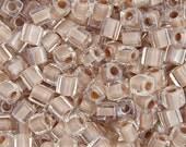 20 Grams Japanese Miyuki Cube Bead - Shell Lined Luster - 4mm (SB04-215)