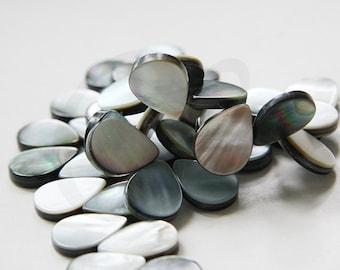 13.5 Inch Full Strand Shell Beads - Teardrop - 18x6mm (189)