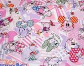 1 meter Disney Cartoon  Minnie and Daisy  Print