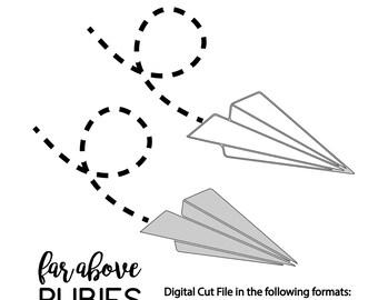 Airplane Stencil Etsy
