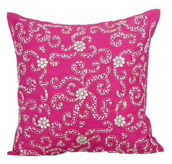 Etsy Pink Throw Pillow : Pink Decorative Throw Pillow Covers Accent Pillow Couch Sofa