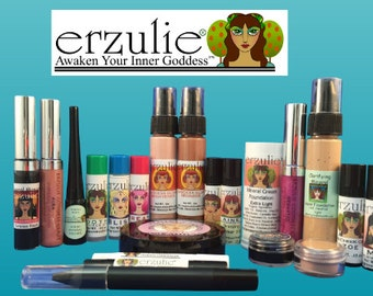 Natural and Organic Cosmetics Gift Certificate  Fifty Dollars Erzulie Natural Cosmetics